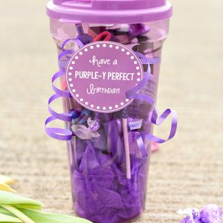 Purple Gift for Friends or Teachers