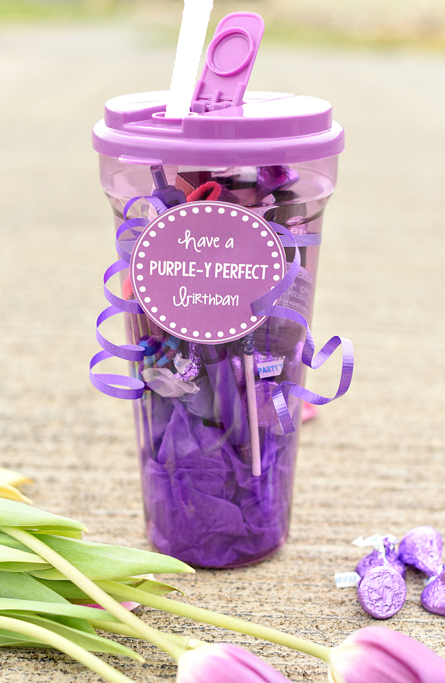 Purple Y Birthday Gift Ideas Great