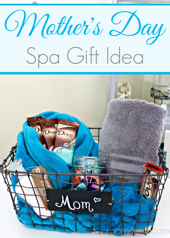 Spa Gift Basket For Mom