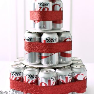 How to Make a Fun Diet Coke Cake Gift