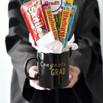 Graduation Gift Idea-Candy Bouquet in a Mug
