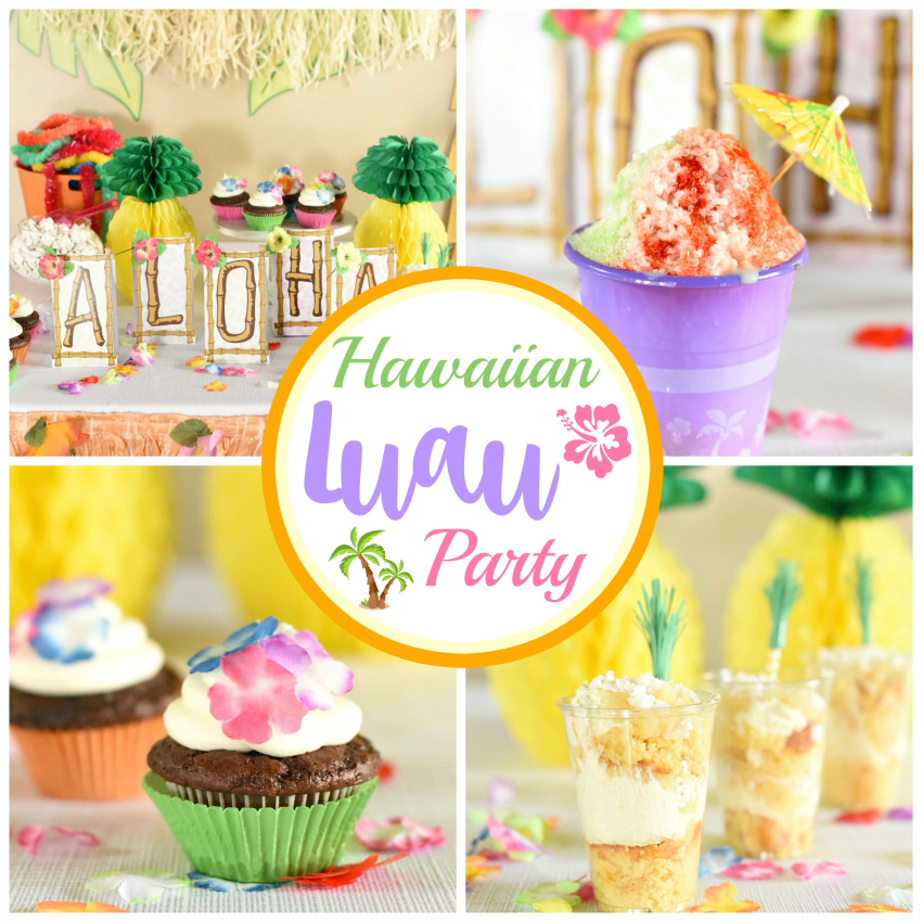 hawaiian luau party ideas that are easy and fun fun squared