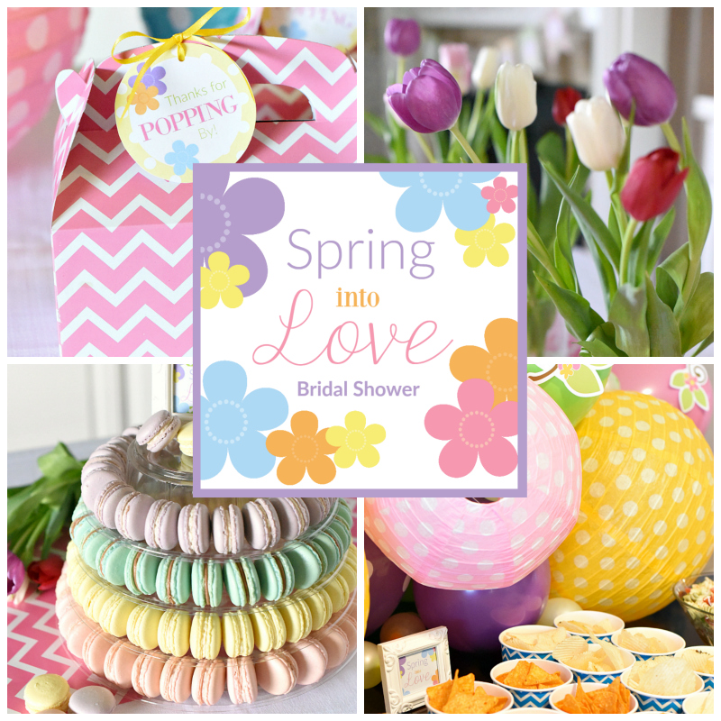 Spring Into Love Bridal Shower Party Fun Squared