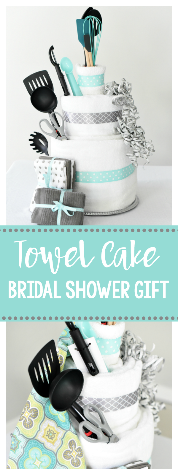 towel cake a fun diy bridal shower gift that she will love