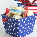 4th of July Dessert-Patriotic Whoopie Pies