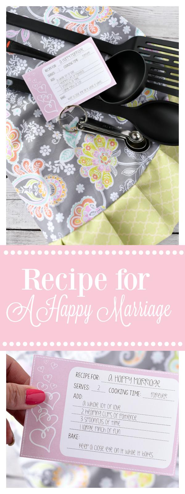 Cute Bridal Shower Gift Idea