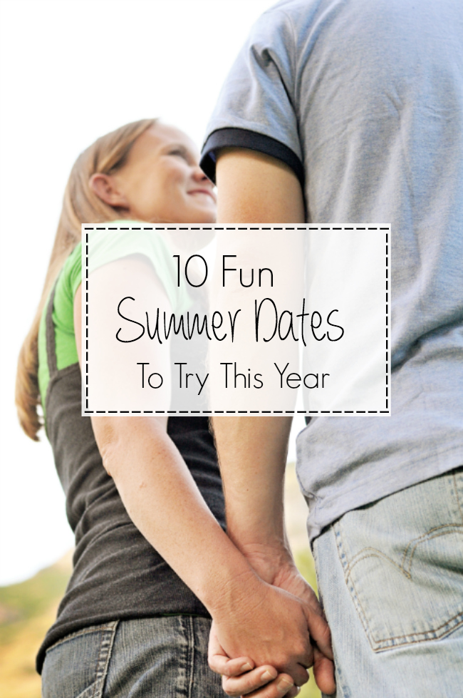 Ideas for Summer Dates