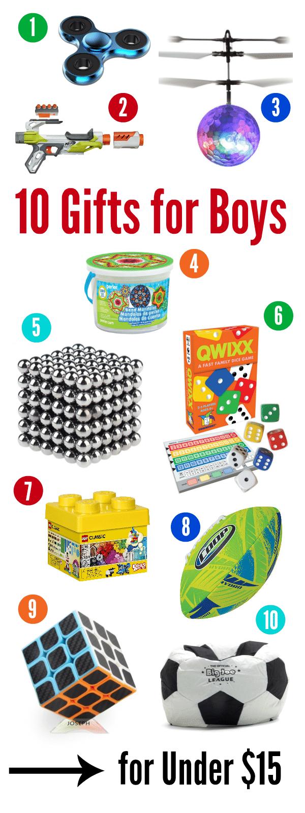 Birthday Gift Ideas for Boys