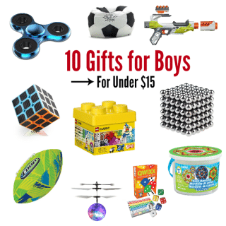 10 Best Gifts for a 10 Year Old Boy for Under $15
