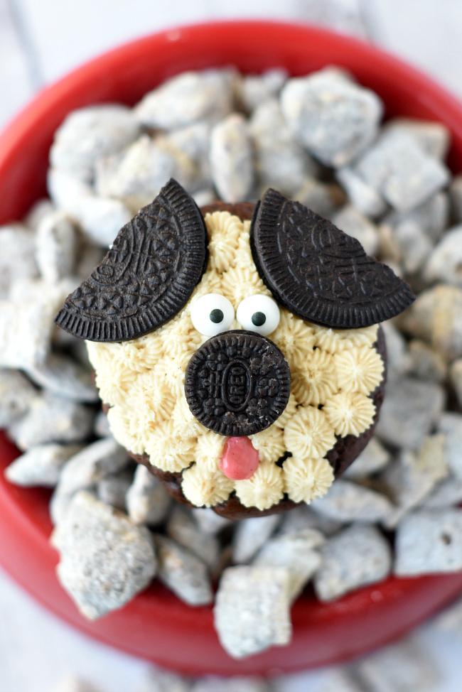 Puppy Cupcake Recipe
