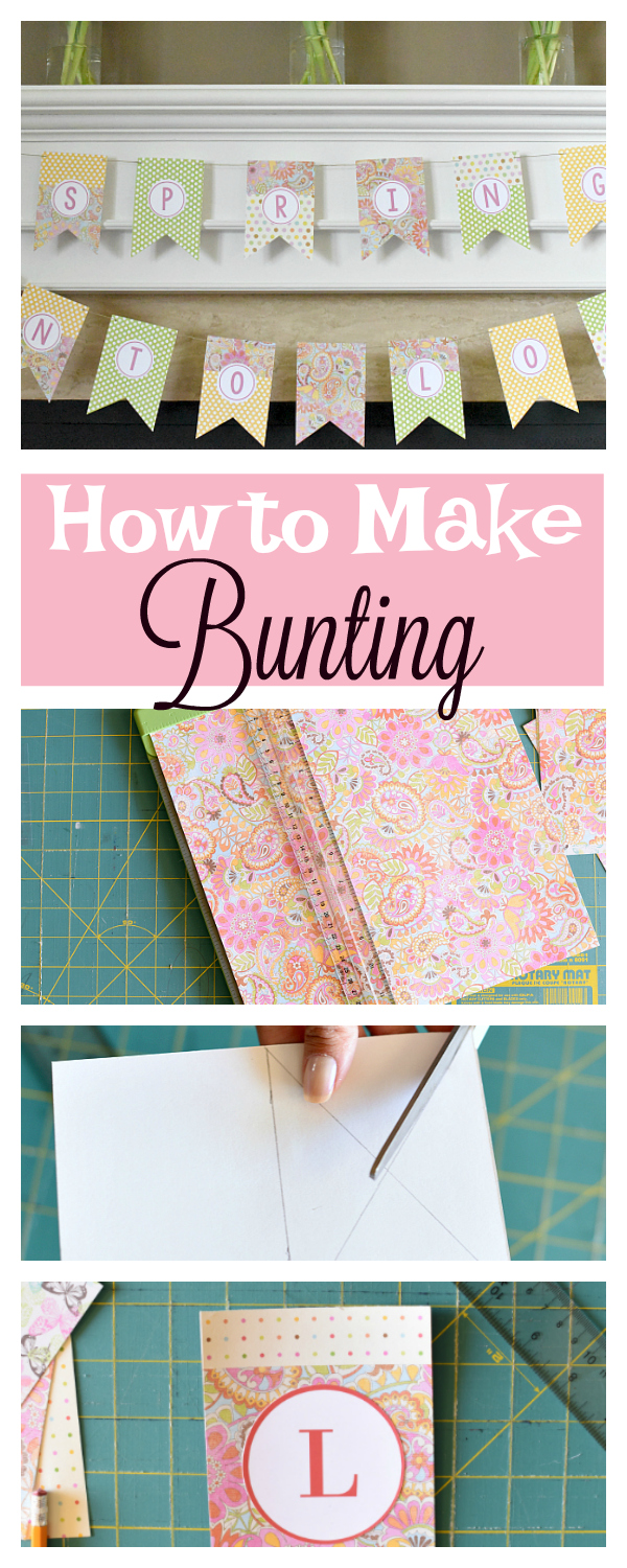 How to Make Bunting for Your Next Party (in 5 Easy Steps)
