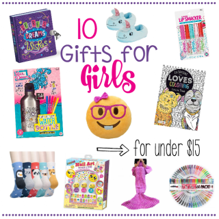 10 Gifts for Girls for Under $15