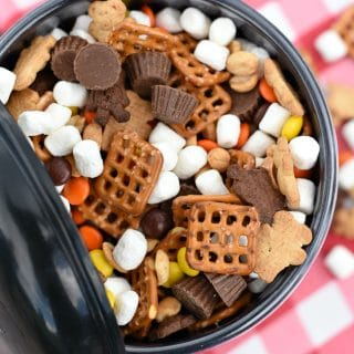 Perfect Peanut Butter S'mores Snack Mix