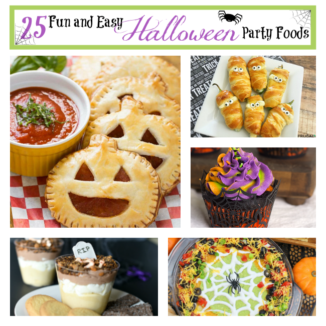 25 fun and easy halloween party foods fun squared