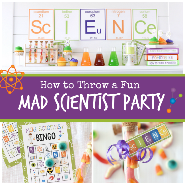 Fun Mad Scientist Party Ideas