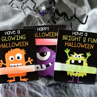 Cute Monster Halloween Handout for Kids
