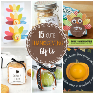 15 Cute Thanksgiving Gift Ideas