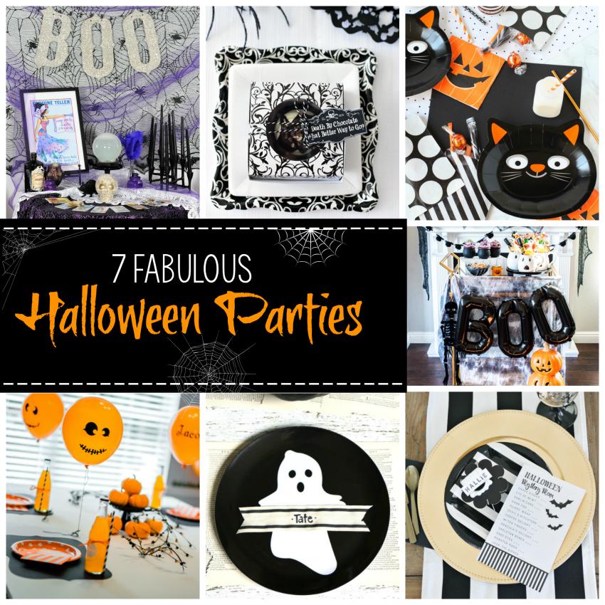 7 Fun Halloween Party Themes