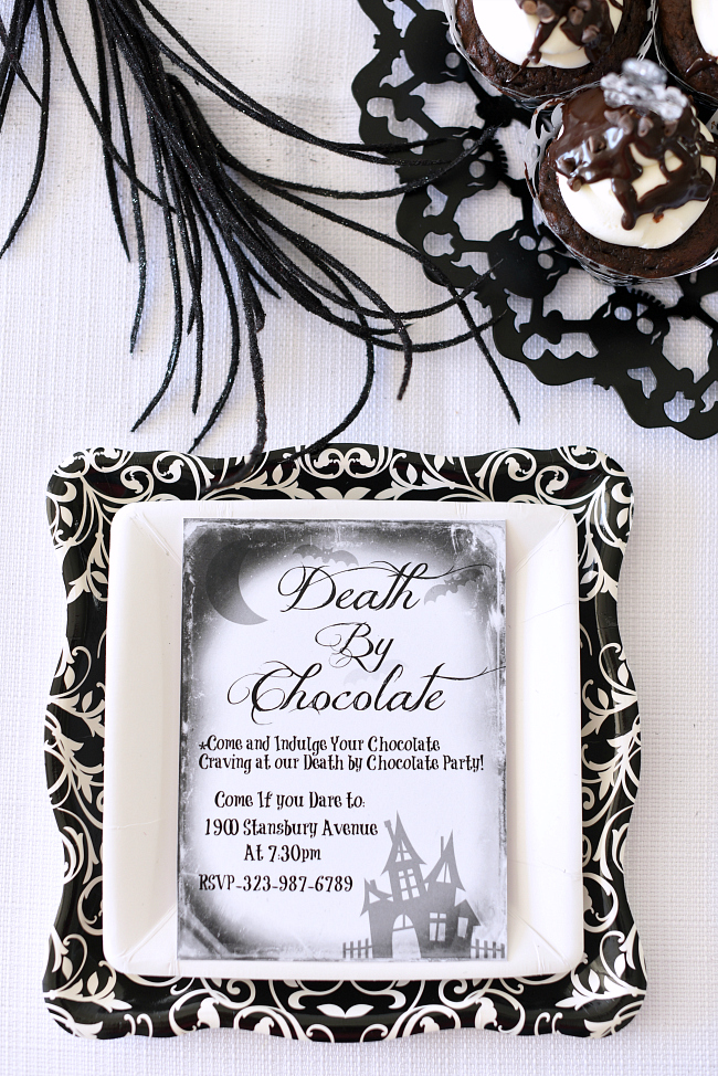 Death by Chocolate Party & 7 Fun Halloween Theme Ideas – Fun-Squared
