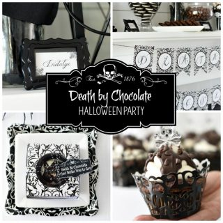 Death by Chocolate Party & 7 Fun Halloween Theme Ideas