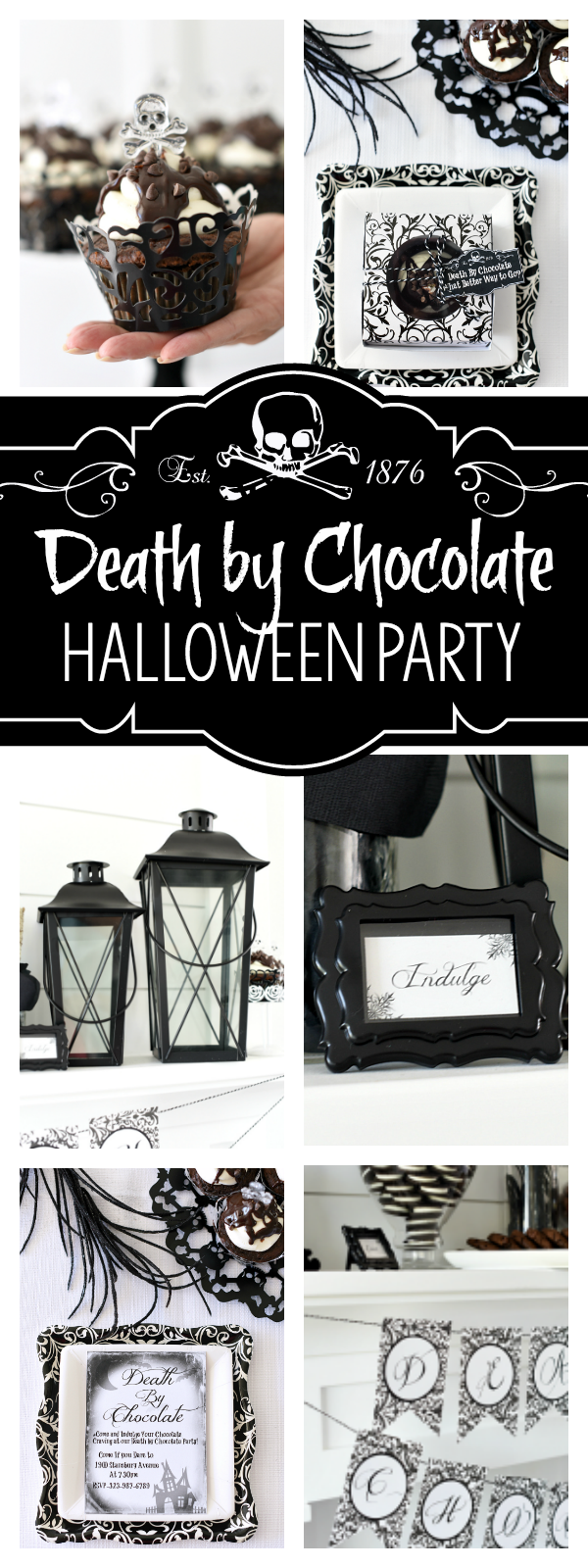 Death by Chocolate Halloween Party Ideas