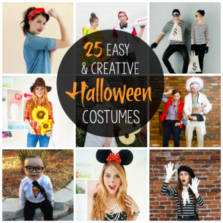 Halloween Party Costumes: 25 Easy & Creative Ideas