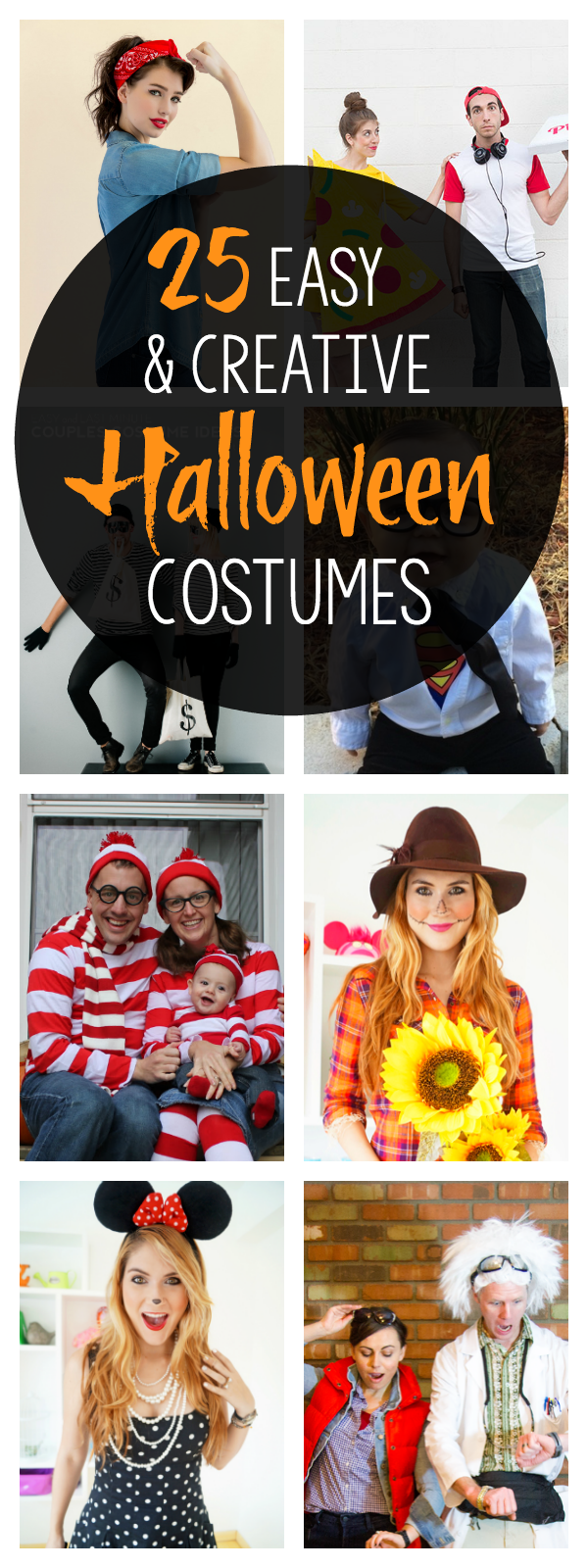Easy and Creative Halloween Party Costumes