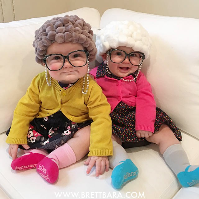 Old Lady Baby Halloween Costume