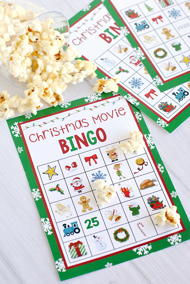 Christmas Bingo Game for Parties