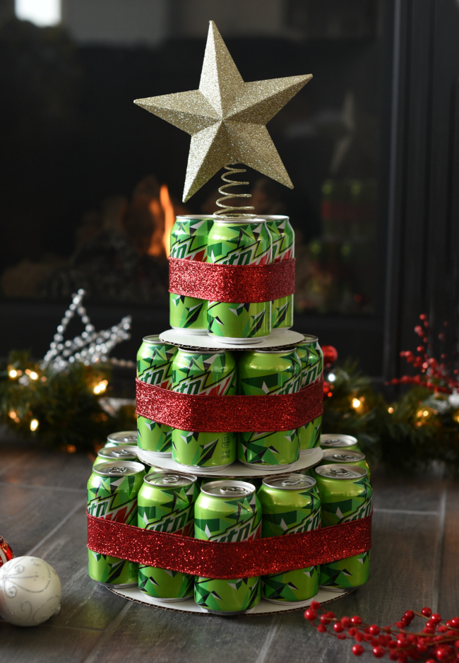 Mountain Dew Birthday Cake