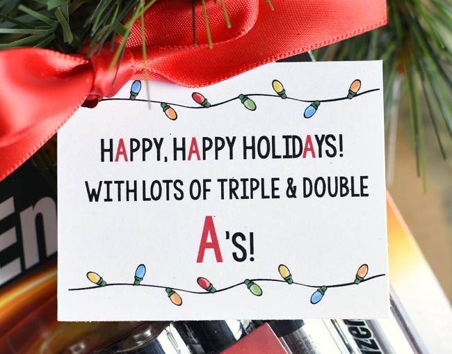 Printable Tag for a Neighbor Gift Idea
