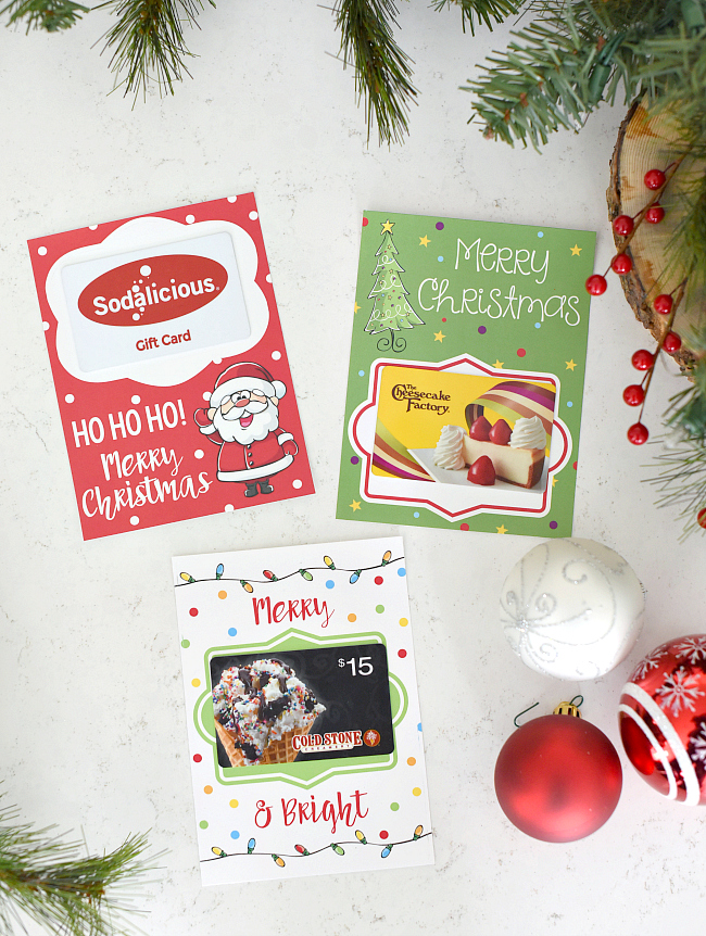 printable christmas gift card holders 1