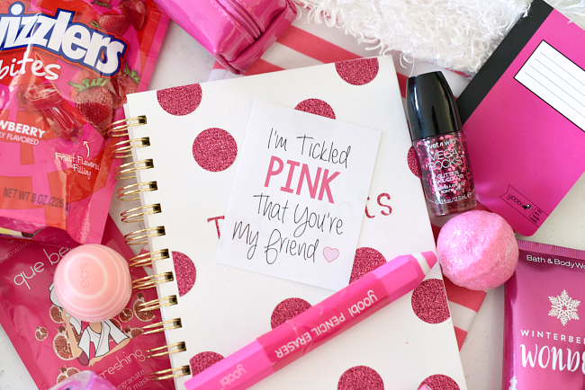 Tickle Pink Gift for Friends