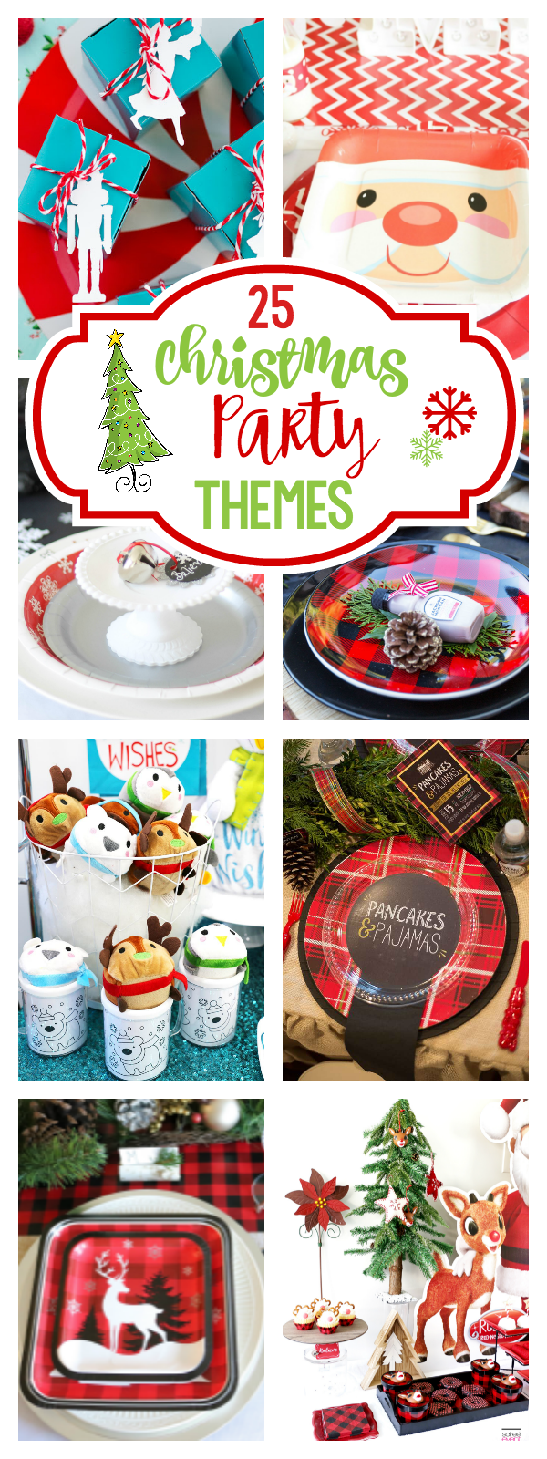 25 christmas party theme ideas and party ideas to throw the best holiday party this year