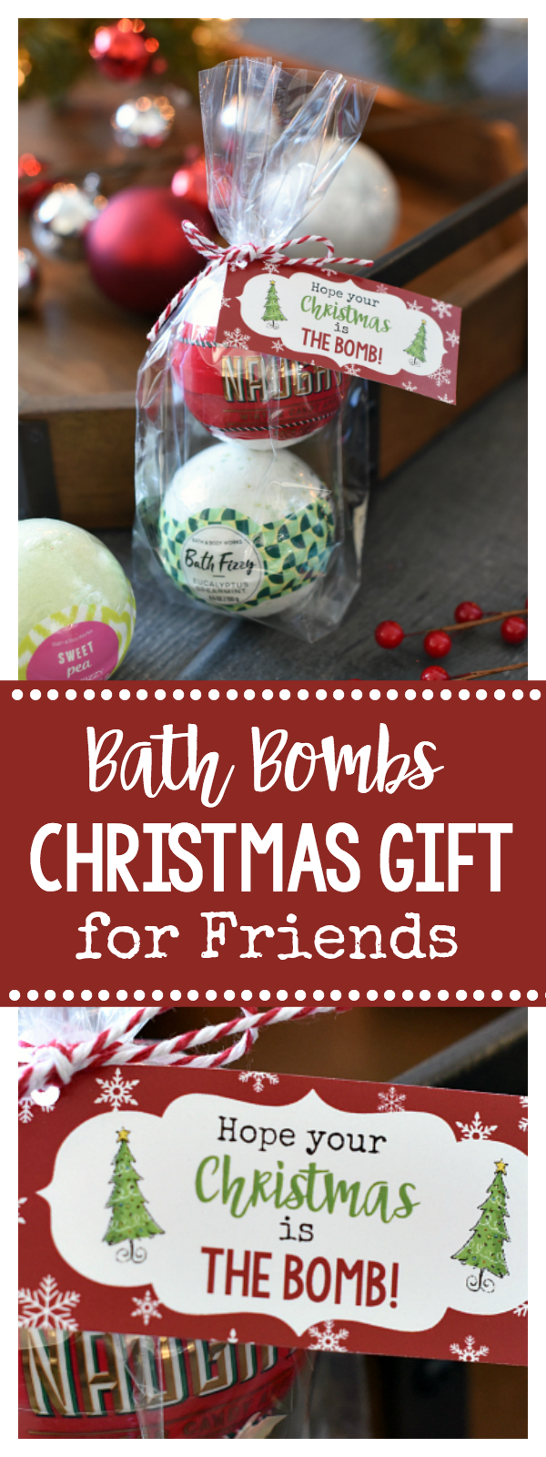 Bath Bombs Gift Idea for Christmas for Friends
