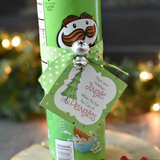 Funny Christmas Gift Idea with Pringles