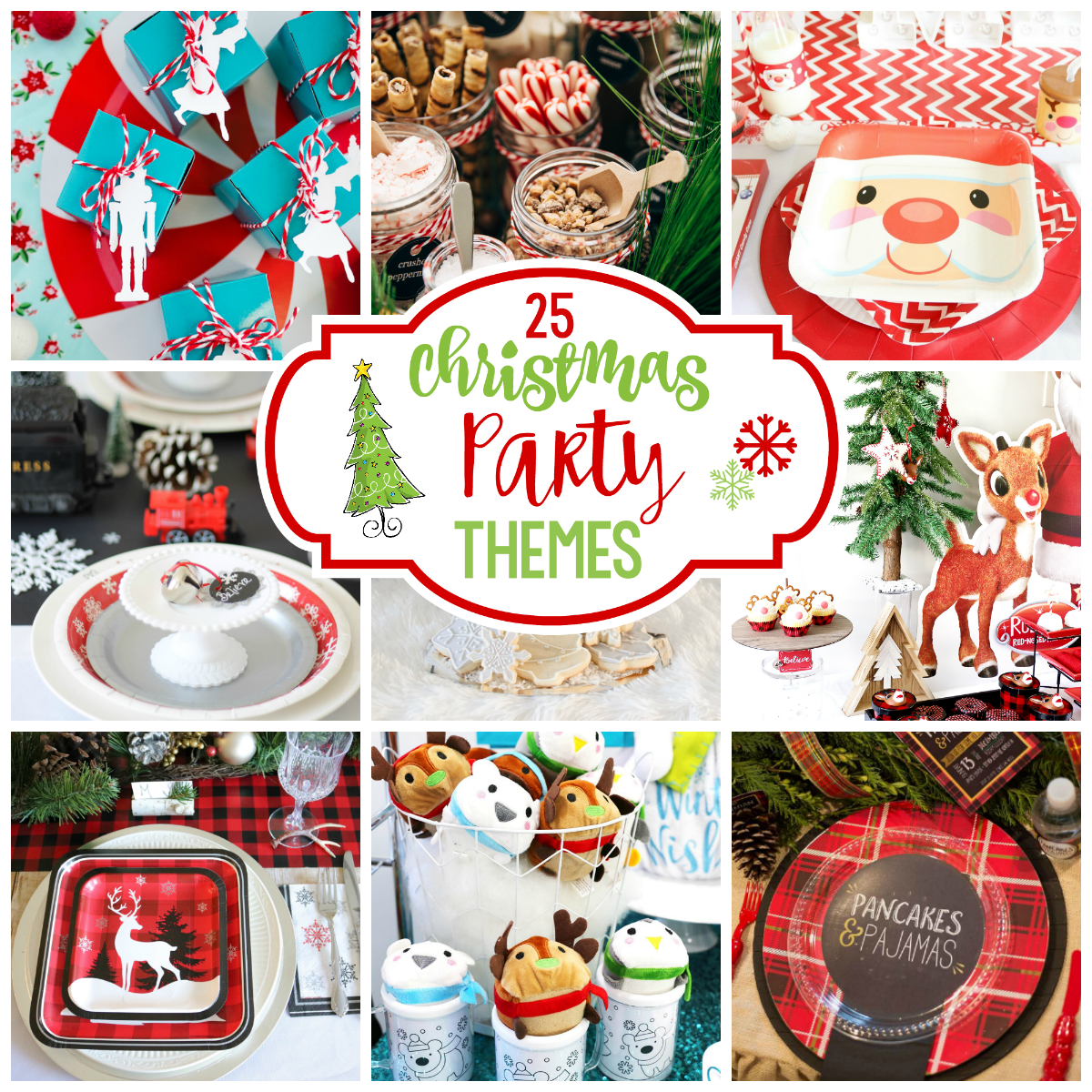 Christmas Party Theme Ideas