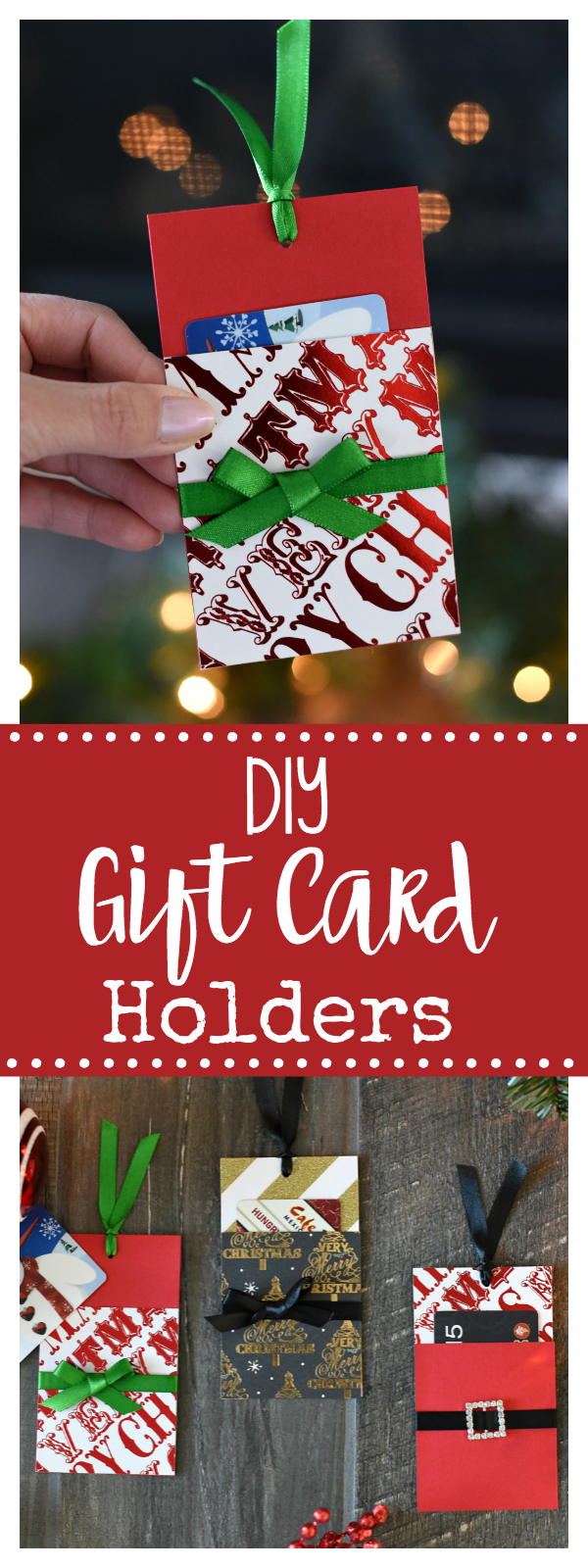 DIY Gift Card Holders for Christmas