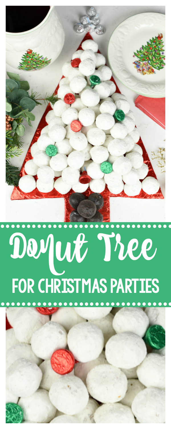 Donut Tree for Christmas Parties