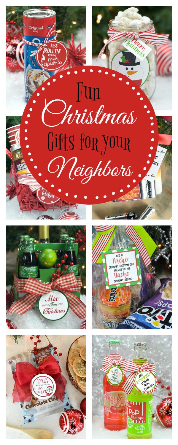 Fun Christmas Gift Ideas for Neighbors – Fun-Squared