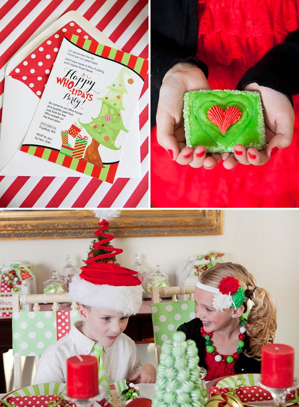 Themed Christmas Party Ideas Part - 33: Grinch Themed Christmas Party Ideas