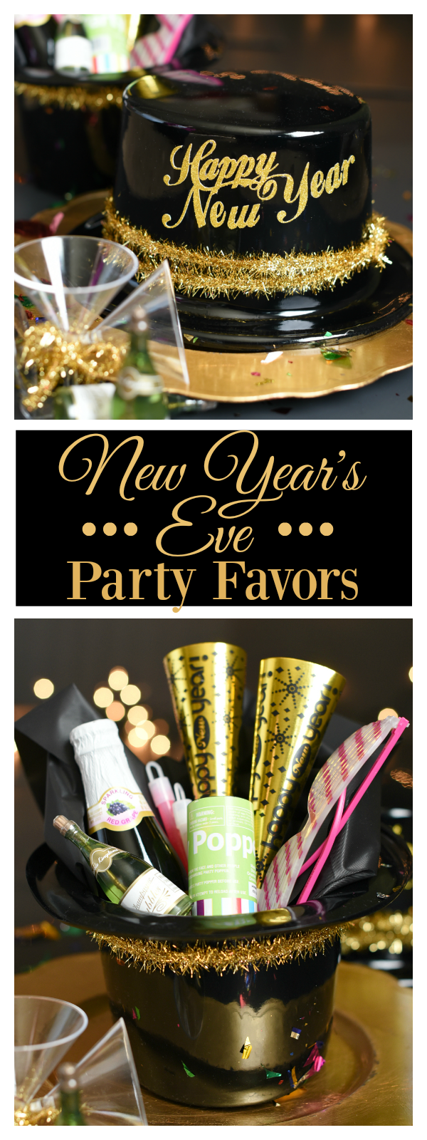 Simple New Year's Eve Party Favors – Fun-Squared