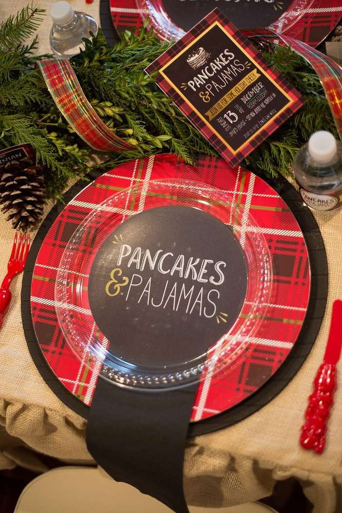Christmas Party Activity Ideas For Adults Part - 37: Pajamas And Pancakes Christmas Party