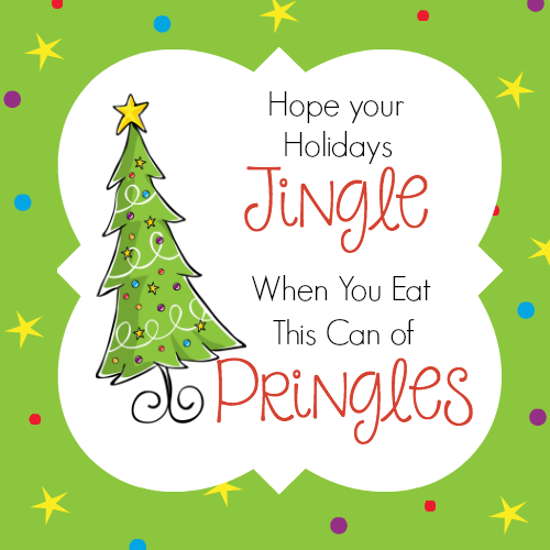 Funny Christmas Gift Idea with Pringles – Fun-Squared