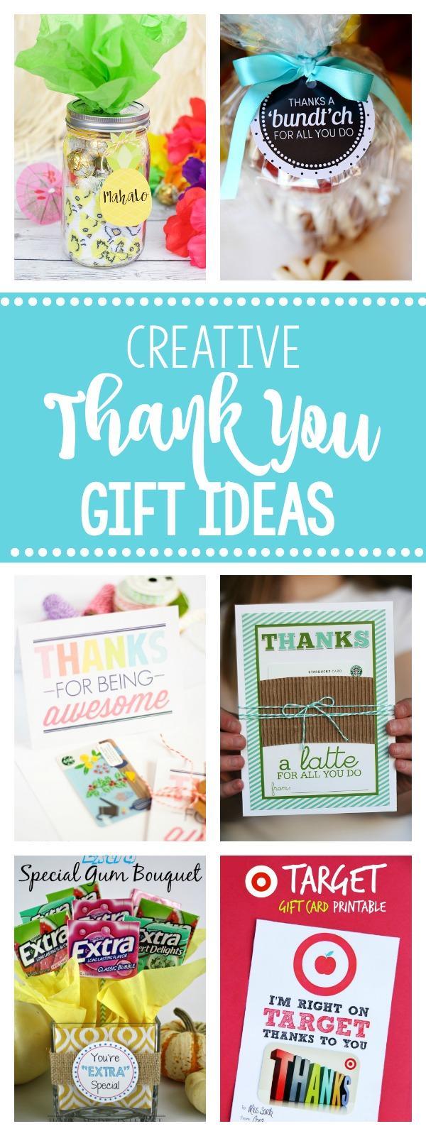 25 Fun Creative Thank You Gift Ideas Fun Squared