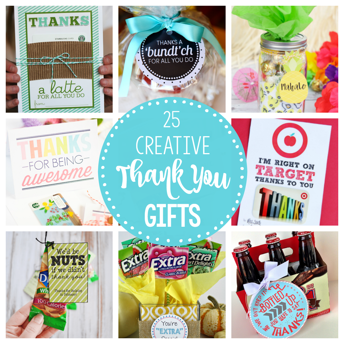25 Creative & Unique Thank You Gifts – Fun-Squared