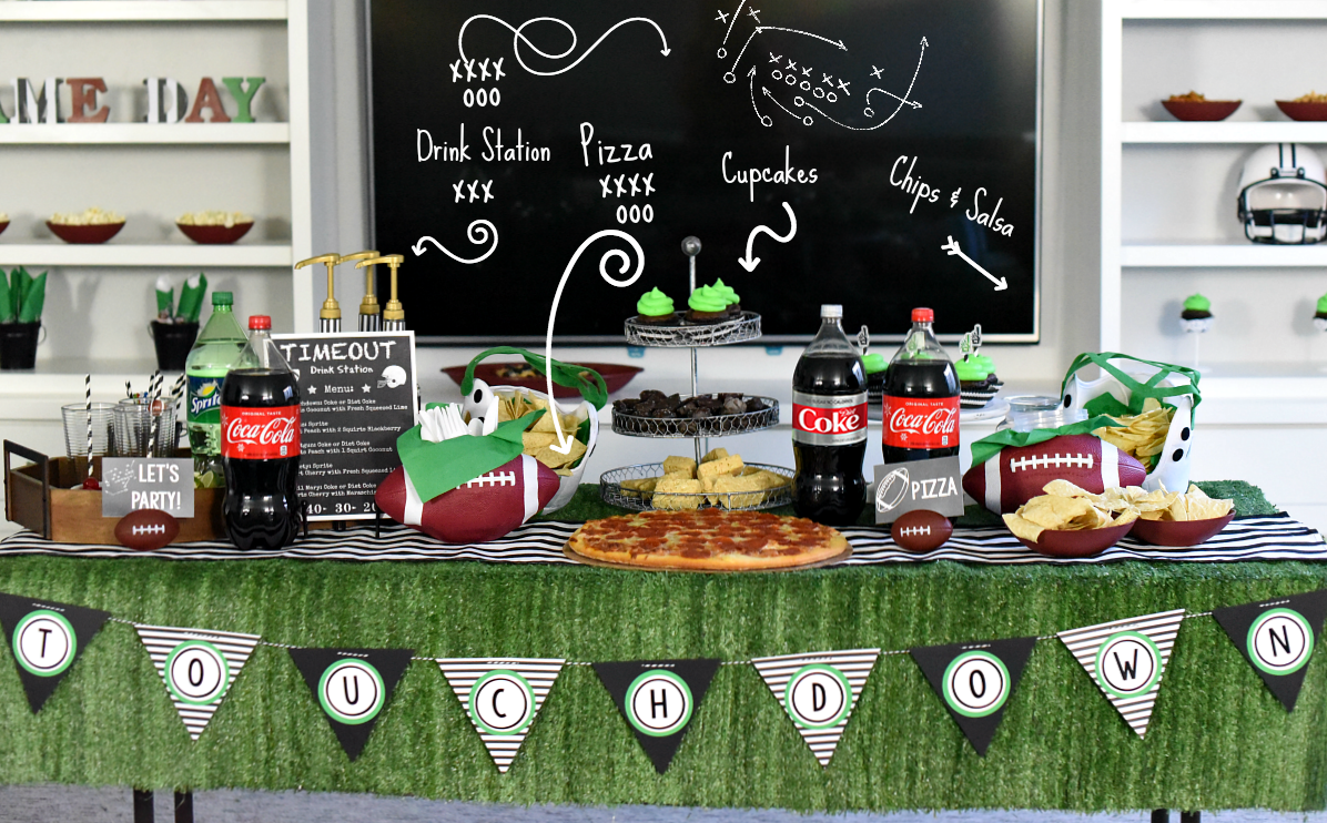 Playbook Football Party Ideas