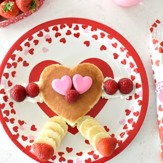 Fun Valentine's Day Breakfast Idea