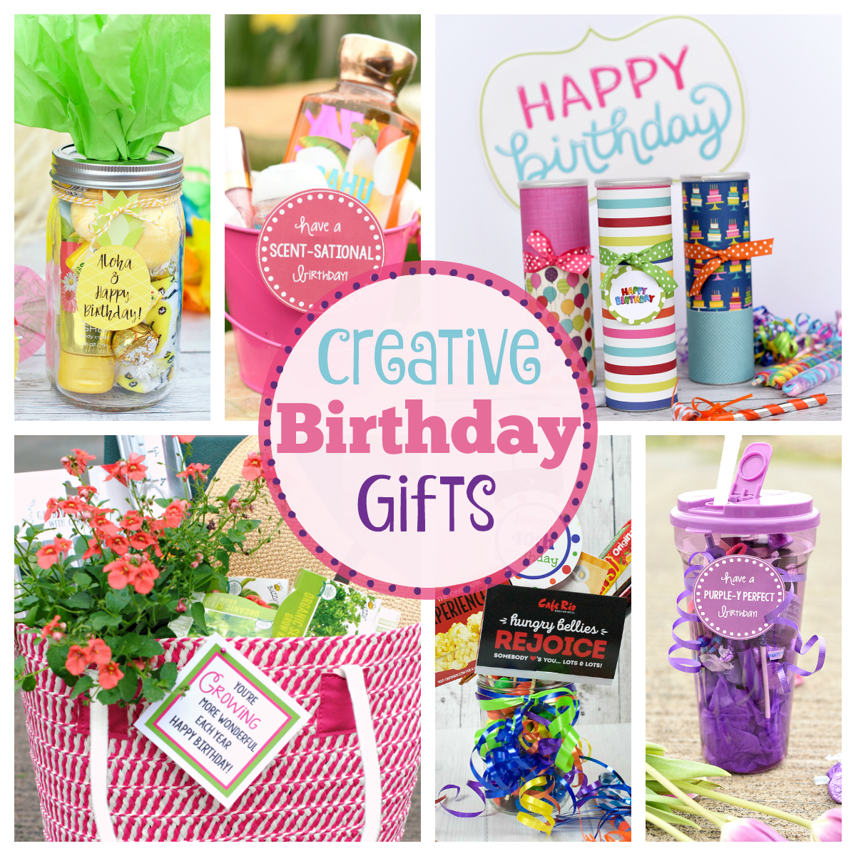 Creative Birthday Gifts for Friends – Fun-Squared