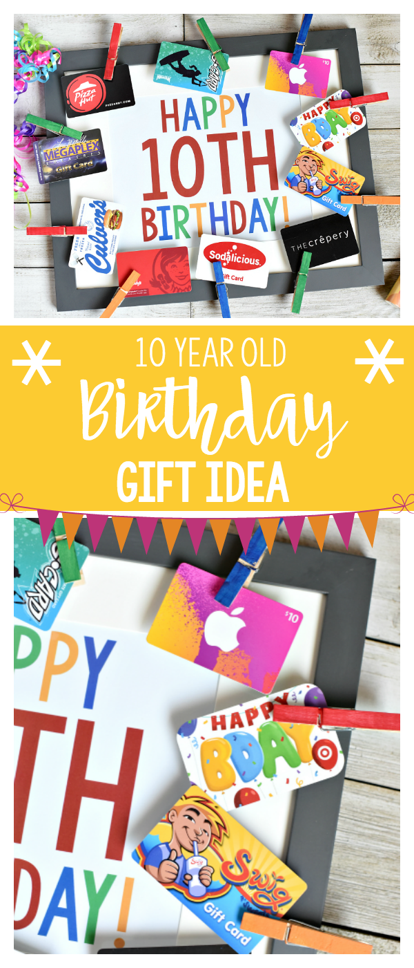 Fun Birthday Gift Idea For 10 Year Old Boys Or Girls